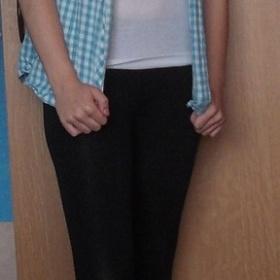 Modro bílá košile Kenvelo - foto č. 1
