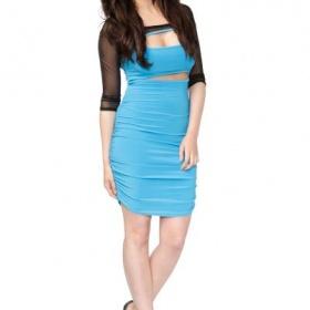 Modré Šaty neznačková - foto č. 1