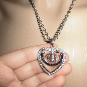 T�pytiv� bi�utern� srdce s logem Juicy couture - foto �. 1