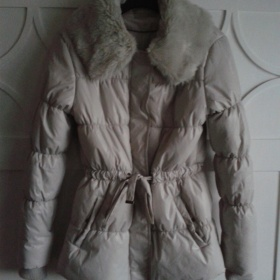 Béžová zimní bunda Orsay - foto č. 1