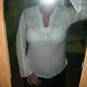 Bílá tunika neznačkové - foto č. 1