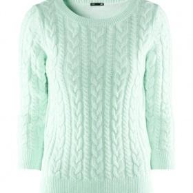 Mint pletený svetřík H&M - foto č. 1
