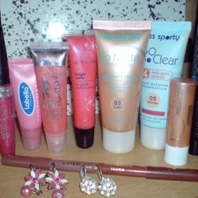 Sada různé kosmetiky Miss sporty - foto č. 1