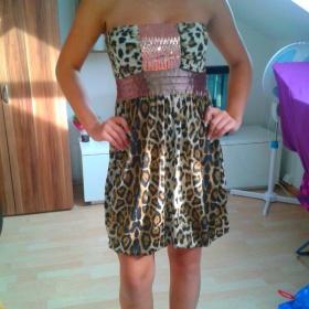 Tygrované šaty Redial - foto č. 1