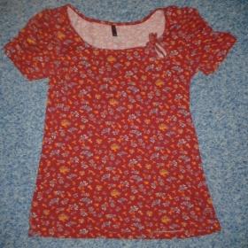 Červené tričko Ann Christine - foto č. 1