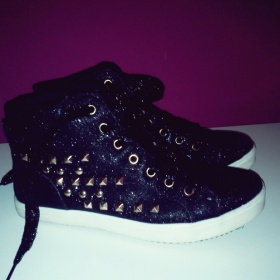 �ern� boty t�pytiv� Jannis shoes - foto �. 1