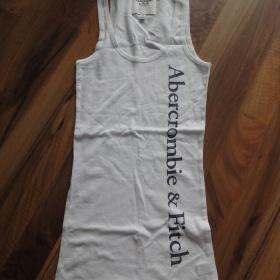Bílé tričko A&F - foto č. 1