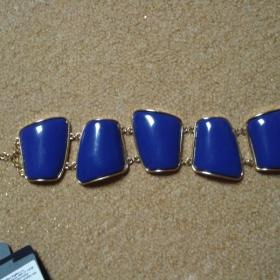 Modro - zlat� n�ramek Bijou brigitte - foto �. 1