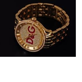Zlatá hodinky DW0377 DOLCE   GABBANA - Bazar Omlazení.cz cc06616ba9