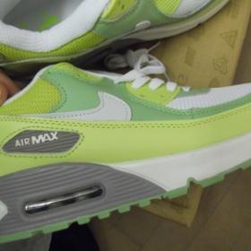 Zelenobílá sportovní boty Nike Air Max 90 - foto č. 1