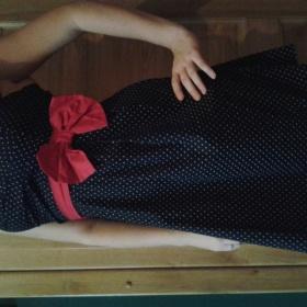Černé šaty neznačková - foto č. 1