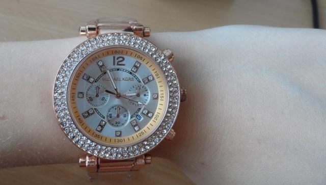 8285df7838 Růžové zlato hodinky Michael Kors - Bazar Omlazení.cz