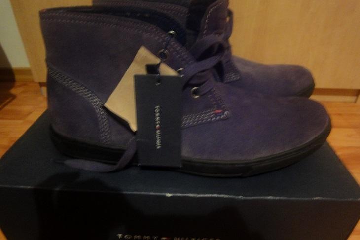 3569048c34 Bazar · Bazar obuv · Šedé pánské boty Tommy Hilfiger - foto č. 1