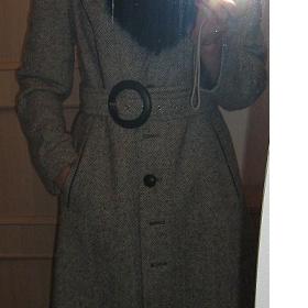 Šedý zimní kabát Yves Tanguy - foto č. 1