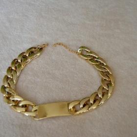 Zlatý řetěz - náhrdelník neznačková - foto č. 1
