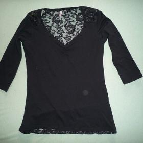 Černé tričko Amisu - foto č. 1