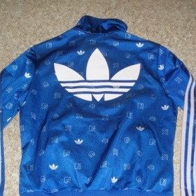 Modrá  adidas mikina Adidas - foto č. 1