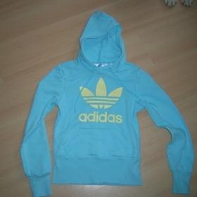 Modr� mikina Adidas - foto �. 1