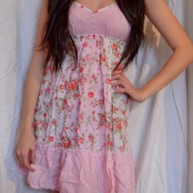 Barevné floral šaty Olsenboye - foto č. 1