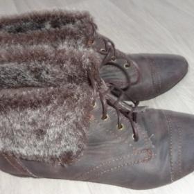 Hnědé boty CCC - foto č. 1