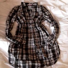 Košile černo bílá Teily wejl - foto č. 1