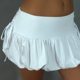 Bílá  sukně neznačková - foto č. 1