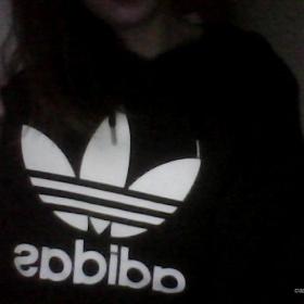Hnědá mikina Adidas - foto č. 1