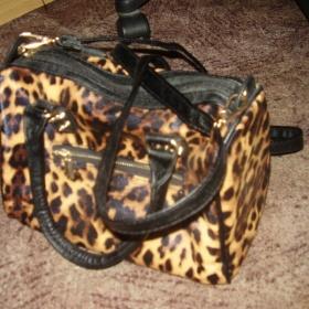 Hnědá leopardí kabelka CaA - foto č. 1