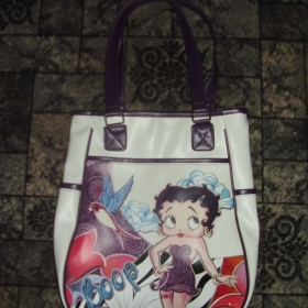 Bílá kabelka Betty Boop - foto č. 1