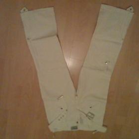 Bílé kalhoty Neznačkové - foto č. 1