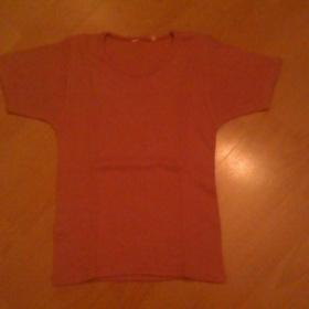 Růžové triko Neznačkové - foto č. 1
