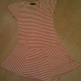 Růžové šaty Neznačkové - foto č. 1
