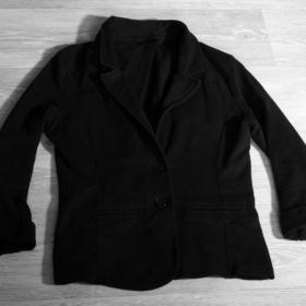 Černé sako Terranova - foto č. 1