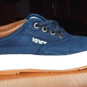 Tmavě modré dámské boty Venice - foto č. 1