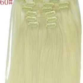 Blond clip - in vlasy neznačková - foto č. 1