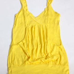 žlutý top neznačkové - foto č. 1
