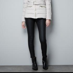 Krémovozlatá bunda Zara - foto č. 1