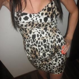 Leopardí šaty Asos - foto č. 1