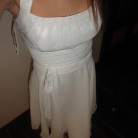 Bílé šaty Astrapahl - foto č. 1