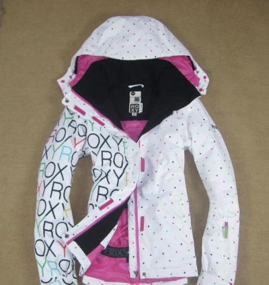 e58e7f8003 Bílá bunda Roxy - Bazar Omlazení.cz