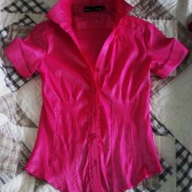 Růžová košile Basa - foto č. 1