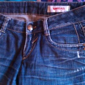 Modré džíny GAS - foto č. 1