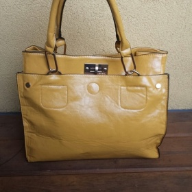 Žlutá kabelka do ruky Orsay - foto č. 1