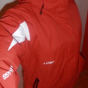 Červená zimní bunda Loap - foto č. 1