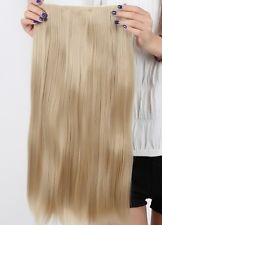 Blond 200g příčesek lidské vlasy 70 cm Neznačková - foto č. 1