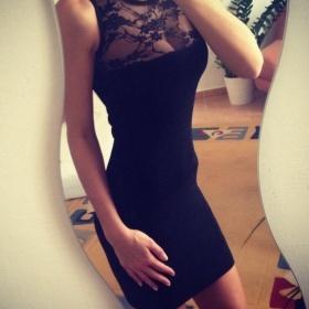Černé šaty Zara - foto č. 1