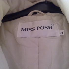 Krémový kabát Victoria Beckham - foto č. 1
