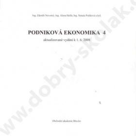 Podnikov� ekonomika 4 - foto �. 1