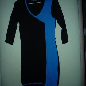 Černo modré šatičky Orsay - foto č. 1