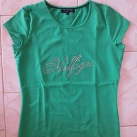 Zelené tričko Tommy Hilfiger - foto č. 1